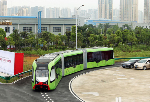 Kinija pristato išmanųjį autobusą