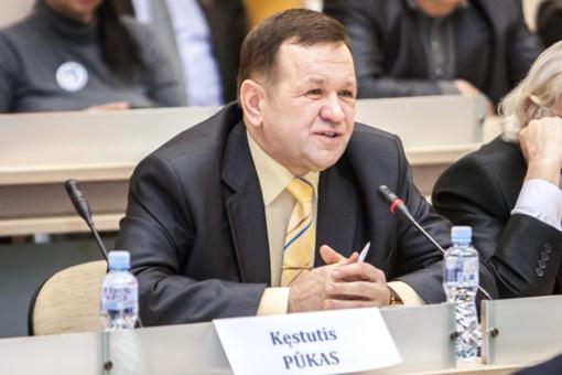 Teismas nagrinės K.Pūko skundą dėl Seimo Etikos ir procedūrų komisijos