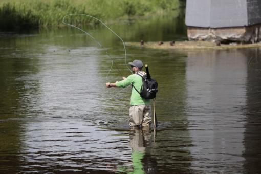 Žvejų laimikis skaičiuotas pasitelkus šiuolaikines technologijas