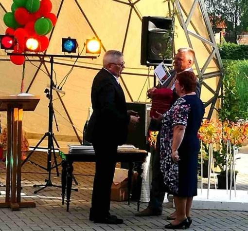 Vicemeras pasveikino Juknaičių bendruomenę