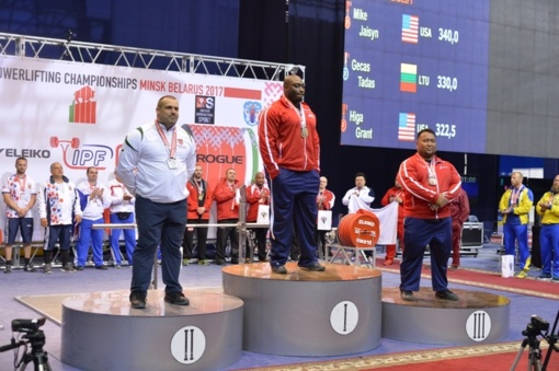 Pasienietis T. Gečas pasaulio jėgos trikovės čempionate iškovojo bronzą