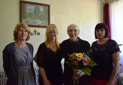 Stragniškiui Bronislavui Gedrimui – 95-eri!