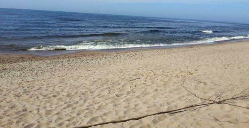 Švariu smėliu papildomi Klaipėdos paplūdimiai