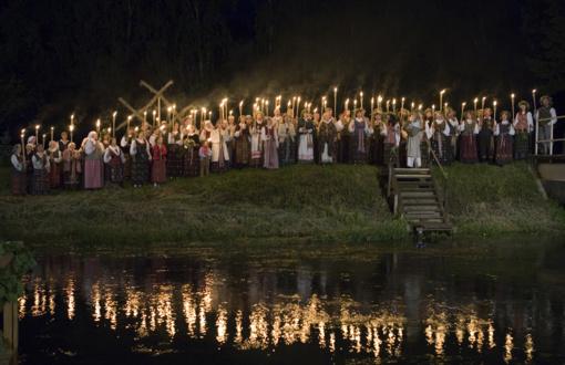 Joninių šventė Suvalkijoje