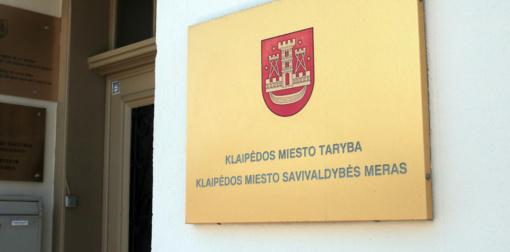 Klaipėdos miesto tarybos nariai turės visuomeninių padėjėjų