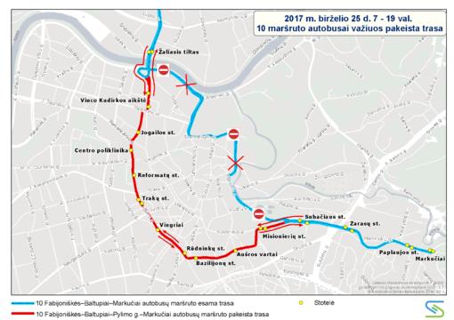 Beatifikacijos iškilmių metu – viešojo transporto eismo pokyčiai