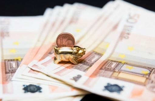 Keturių mėnesių centrinės valdžios sektoriaus deficitas siekė 703 milijonus eurų