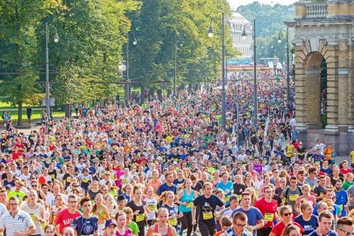 Vilniaus maratone – šimtai Tomų, Andrių, Ievų ir Linų