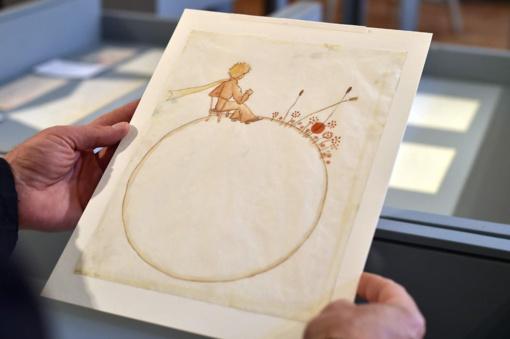 """Dvi autoriaus pieštos """"Mažojo princo"""" iliustracijos parduotos už 500 tūkst. Eur"""