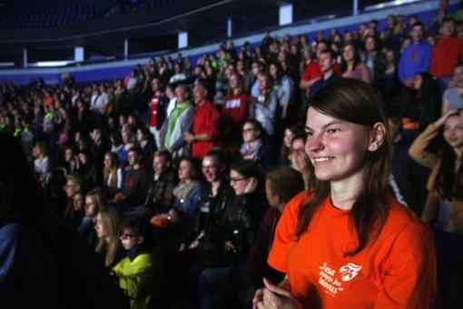 Vilniuje vyksta Lietuvos jaunimo dienų atidarymo renginiai
