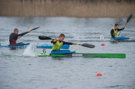Baidarininkas L. Šakalys Europos jaunių čempionate užėmė devintąją vietą