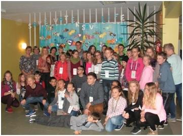 """Ginkūnų Sofijos ir Vladimiro Zubovų mokykla dalyvavo Nordplus projekte """"Save water, save life"""""""