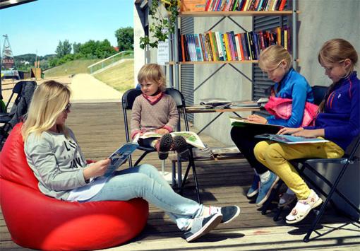 Kauniečius kviečia netradicinė biblioteka prie Lampėdžių karjero