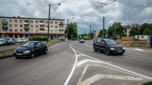 Kaune VI forto žiede keičiasi eismo tvarka: mažės kamščių