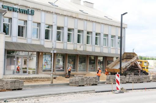 Alytaus miesto meras ragina rangovus spartinti Jotvingių gatvės rekonstrukcijos darbus