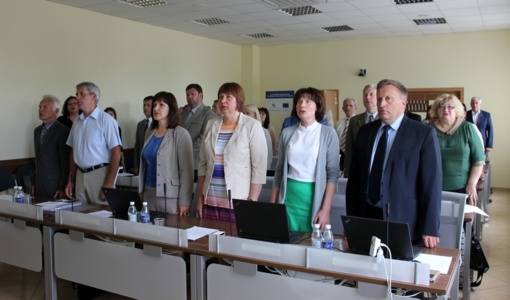 Posėdžiavo Šiaulių rajono savivaldybės taryba (GALERIJA)