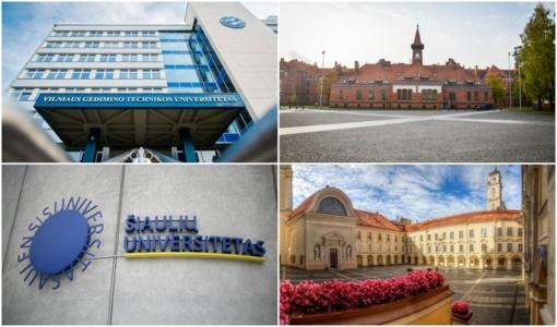 Seimo planas: universitetų turėtų mažėti perpus