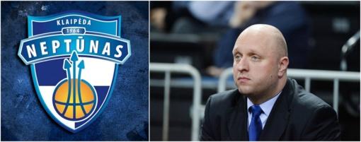 """""""Neptūno"""" direktorius – apie naują trenerį ir FIBA Čempionų lygą"""