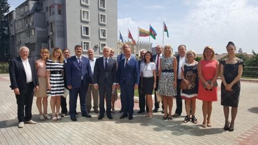 Druskininkų savivaldybės delegacija lankosi Azerbaidžane