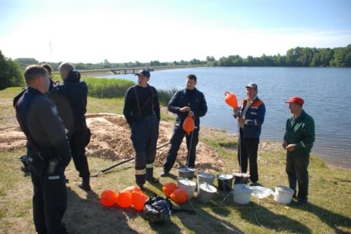 Gyventojai galės saugiai maudytis Skuodo tvenkinyje