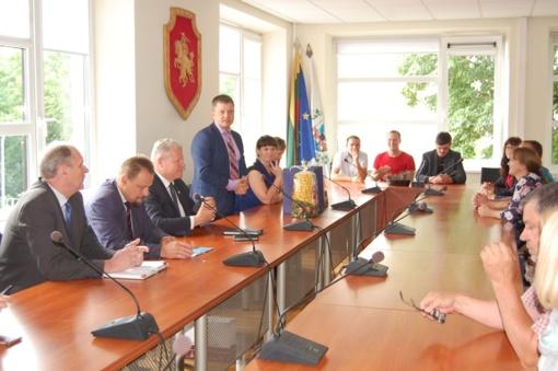 Anykščiuose patirties sėmėsi Zarasų savivaldybės administracijos darbuotojai
