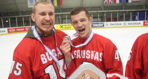 Ledo ritulininkas N. Ališauskas beldžiasi į KHL duris