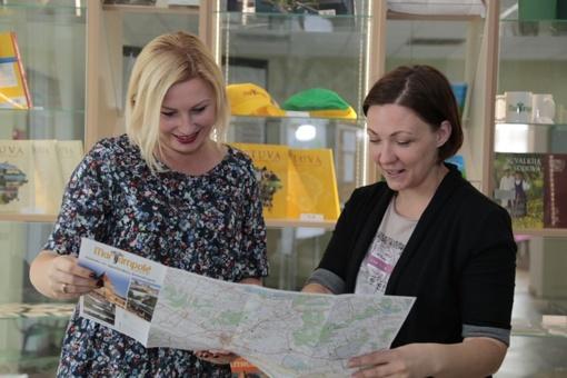Keliautojus Marijampolėje pasitinka naujas turizmo informacijos centras