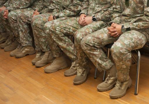Palangoje sulaikyti aštuoni neblaivūs Didžiosios Britanijos kariuomenės kariai