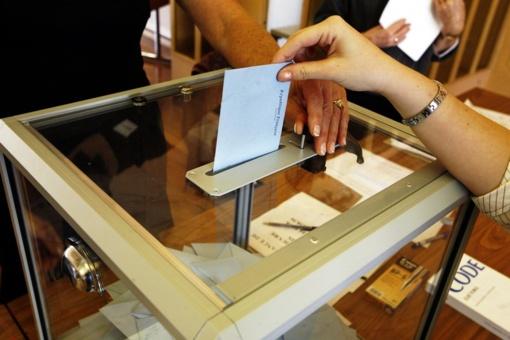 Rinkimuose dalyvavo 56,45 proc. rinkėjų