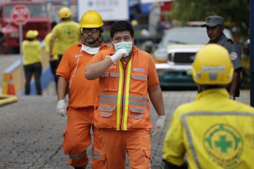 Per gaisrą Salvadoro Finansų ministerijoje žuvo 2 žmonės