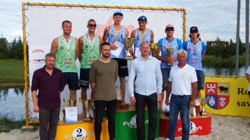 EEVZA paplūdimio tinklinio fiesta Rokiškyje baigėsi įspūdingu finalu tarp lietuvių ir rusų (VIDEO)