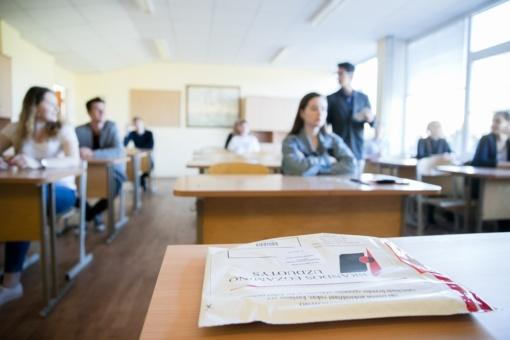 Istorijos egzaminą išlaikė per 98 proc., informacinių technologijų – beveik 97 proc. laikiusiųjų