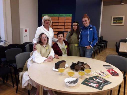 Subačiaus gimnazijos komanda patirties sėmėsi Latvijoje