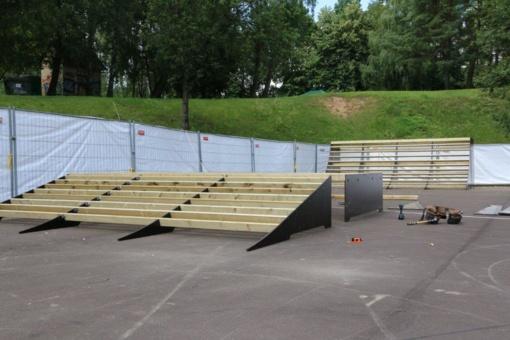 Alytuje – nauja jaunimo erdvė: kuriamas riedlenčių parkas