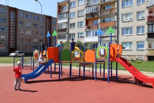 Atsinaujino vaikų laisvalaikio praleidimo erdvė