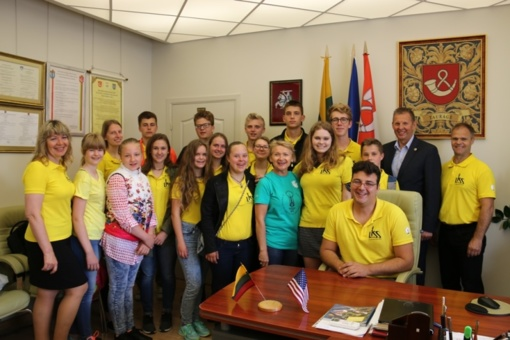 Tauragėje vieši svečiai iš JAV lietuvių bendruomenės