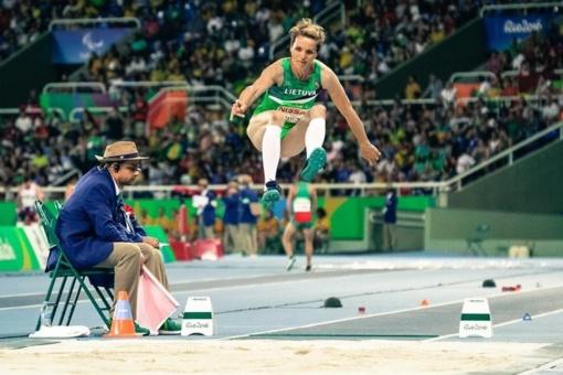 Lengvaatletė R. Adomaitienė pasaulio neįgaliųjų čempionate užėmė penktąją vietą