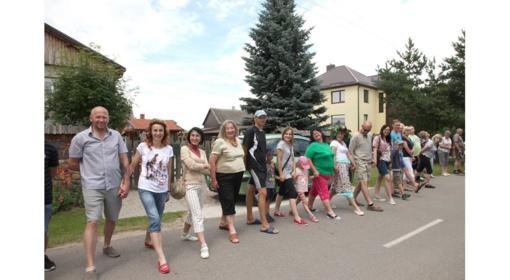 Puskelnių kaimo bendruomenei pavyko pagerinti rekordą