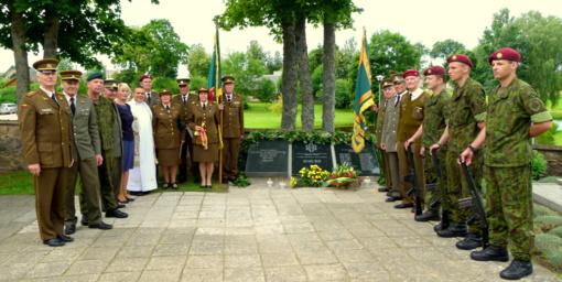 Daugailiuose įamžintas Nepriklausomybės kovų savanorių atminimas