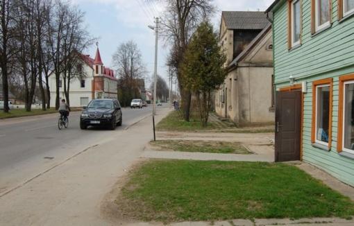 Biržuose ketinama tvarkyti Kęstučio gatvę