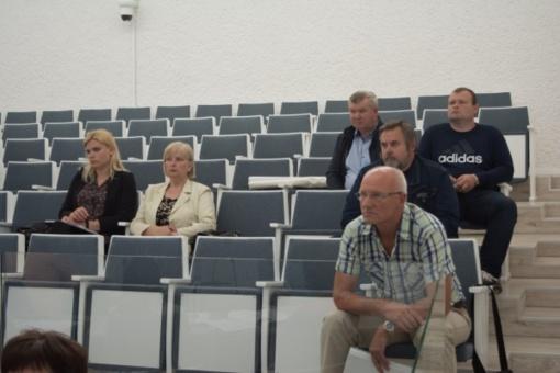 Ekstremaliųjų situacijų komisijoje – Jūžintų užtvankos problemos