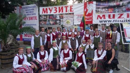 """""""Tarškutis"""" įvertintas ir saulėtoje Bulgarijoje"""