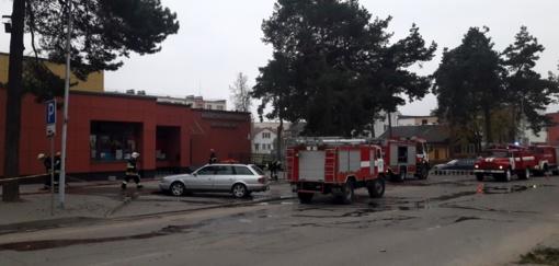 Marcinkonyse pradedamas statyti naujas gaisrinės pastatas