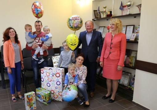 Karmėlavos trynukai šventė antrąjį gimtadienį