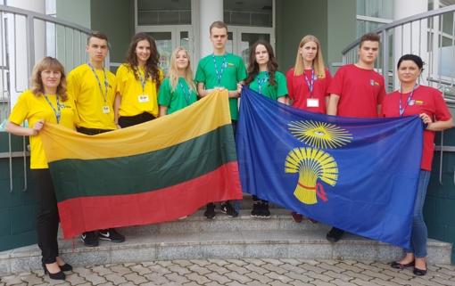 Plungės moksleivių vizitas į Krasnogorską – dalis jaunimo mainų programos