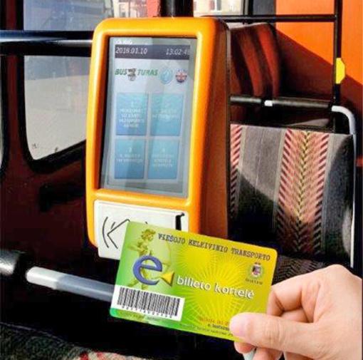 Kodėl verta naudoti e. bilietą vykstant miesto viešuoju transportu?