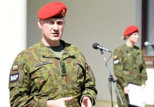 Lietuvos kariuomenės karo policijai vadovaus L. Baliūnas