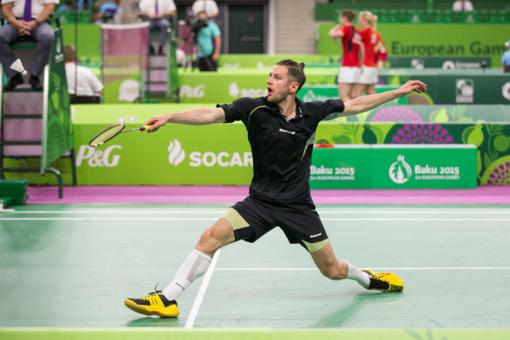 Badmintonininkas K. Navickas paskelbė apie karjeros pabaigą