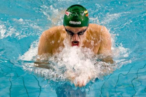 Plaukikas G. Titenis pasaulio čempionate – 21-as