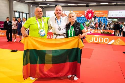Justina Kmieliauskaitė iškovojo pirmąjį sidabro medalį Europos olimpiniame festivalyje